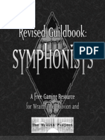 Guildbook-Symphonists