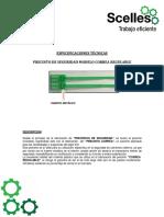 Precinto Correa - Scelles Sac