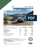 New Ford Ranger 2.0l Xlt Plus 4wd 10at Sabah
