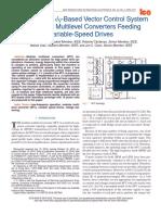 An Enhanced Dq-Based Vector Control System for Modular Multilevel Converters Feeding Variable