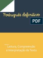 E-book - Leitura, Interpretação e Compreensão Textual