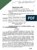 Portaria PMERJ Nº. 023, De 01-08-1979 - Regulamenta a Medalha Bons Serviços (BOL PM n.º 096 03-08-79)