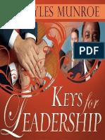 Keys for Leadership - Myles Munroe