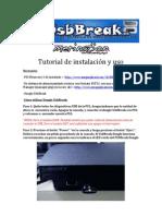 Tutorial de instalación y uso UsbBREAK