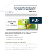 1-25 Pregnancy and Eye Problems