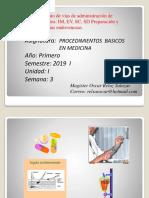 clase 3  procedimientos basicos en medicina 2019 I.ppt
