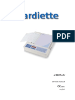 Cardiette AR2100 - Service Manual