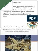 los aztecas trabajo grupal