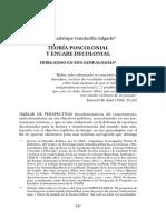 Teoría Poscolonial y Encare Decolonial