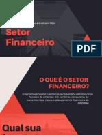 Setor financeiro de uma empresa