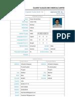 Recruitment Portal GACL