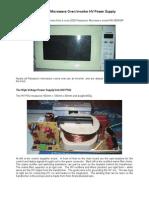 Panasonic Microwave Oven Inverter