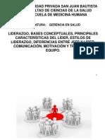Exposicion Gerencia Liderazgo