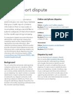 Credit report dispute equifax