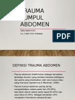 Trauma Tumpul TPR