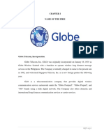 FIRM ANALYSIS OF GLOBE TELECOM, INCORPORATION