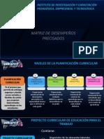 Proyecto Curricular de EPT