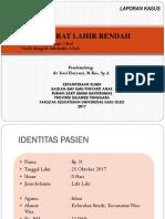 BBLR Laporan Kasus Dr. Yeni
