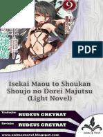 Isekai Maou Vol 9 Cap 1-2