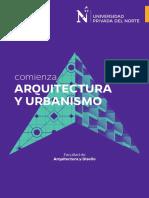 Brochure Fa Arquitectura Urbanismo