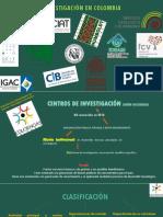 Institutos de Investigación en Colombia