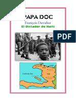 François Duvalier PAPA DOC - Haiti - Presidente - Dictador