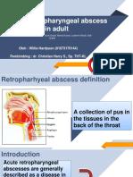 journal reading retropharingeal abscess