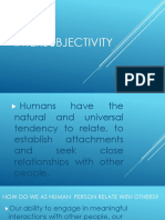 Intersubjectivity Ppt