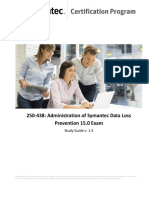 Administration of Data Loss Prevention 15 Study Guide En