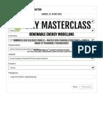 5 Day Masterclass in Renewable Energy Modelling Terrapinn Training
