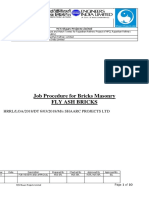 Job Procedure for Bricks Masonry.docx