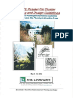 Residential Cluster Planning Design Guidelines