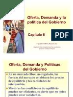 La oferta, la demanda y la política del gobierno