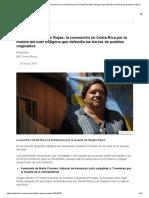 Asesinato de Sergio Rojas_ La Conmoción en Costa Rica Por La Muerte Del Líder Indígena Que Defendía Las Tierras de Pueblos Originarios - BBC News Mundo