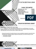 struktur bentang lebar