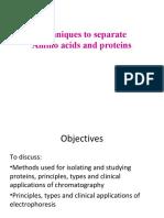 Biochemistryl6 Techniquestoseparateaminoacidsandproteins Final19 171030091150