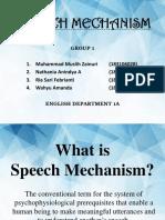 Speech Mechanism 1a