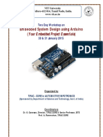 Embedded System Design Using Arduino