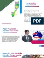 Australia ETA Document Share Requirements