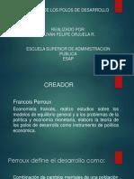 Diapositivas Teoria de Los Polos de Desarrollo