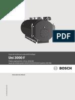 Instrucțiuni de Utilizare UNI 3000 F