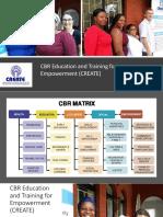 create advocacy work rbm training 11 2018