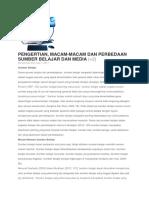 PENGERTIAN, MACAM-MACAM DAN PERBEDAAN SUMBER BELAJAR DAN MEDIA.docx