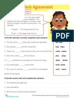 Great Grammar Subject Verb Agreement