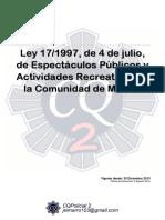 01311 Ley 17 1997 Espectaculos Publicos