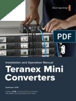 Teranex Mini Converters Manual