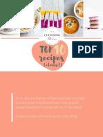 Choosing Chia Top 10 Recipes