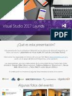 Presentacion Vs2017launcheventbuenosaires 20170311 170318211318