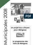 programme municipales