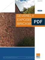 s Severely Exposed Brickwork